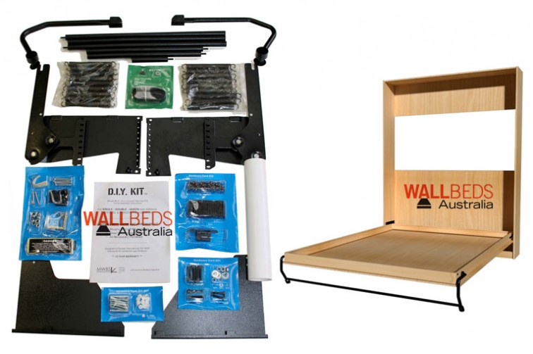 D.I.Y Wall Bed Hardware Kit